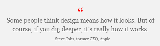 Steve Jobs about Design