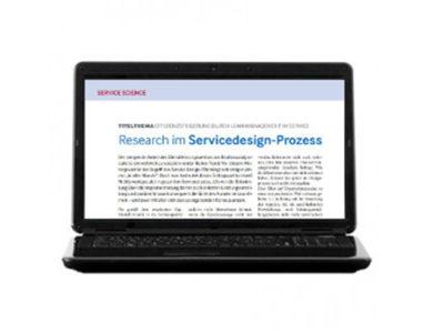Research im Servicedesign-Prozess