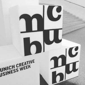Munich Creative Business Week (MCBW) 2018