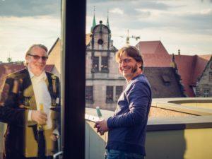 Design Drinks - Stefan Heinisch und Philip Zerweck