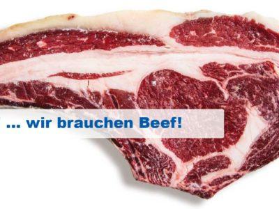 Beef! ... wir brauchen Beef!