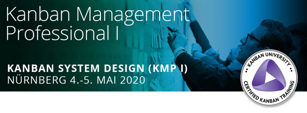 Das Kanban Training KMP1 findet am 4 und 5 Mai 2020 in Nürnberg statt